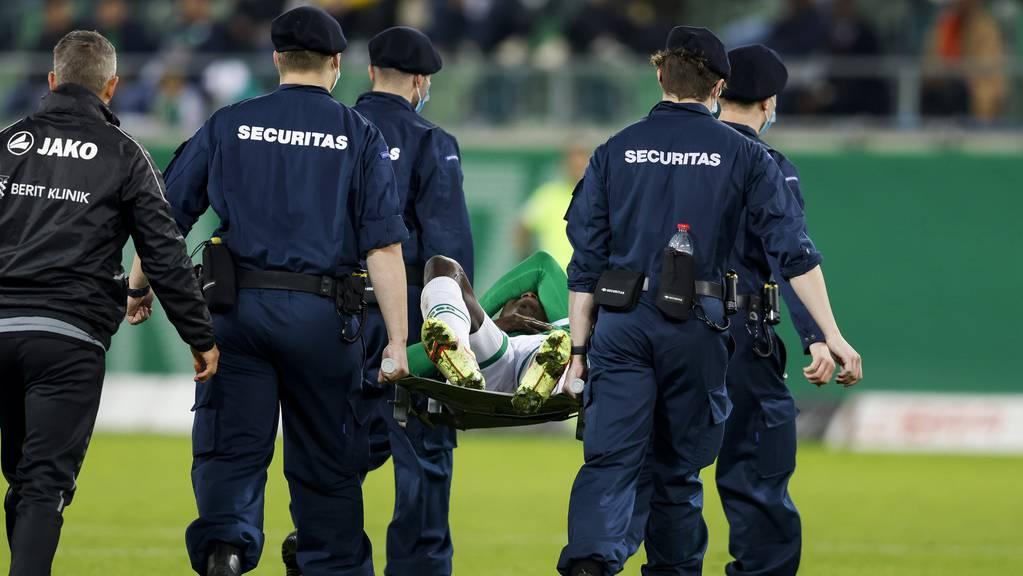 Diakité fällt mit einem Bänderriss im Sprunggelenkt zwei bis drei Wochen aus, verpasst damit also die Partien gegen YB und die Grasshoppers.