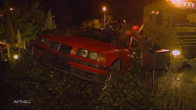 Autounfall in Kölliken mit 1,6 Promille