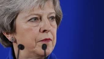 Nach der Einigung auf das Brexit-Abkommen am Sonntag beim Sondergipfel in Brüssel will die britische Premierministerin Theresa May das Parlament in London von ihrem Brexit-Deal überzeugen. (Archiv)