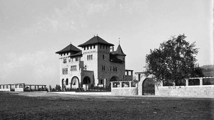 Charles Browns Villa Römerburg im Jahr 1899.