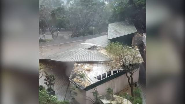 Höchste Alarmstufe: Taifun «Mangkhut» wütet an Chinas Küste