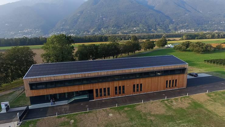 Das Forschungszentrum des Bundes Agroscope in Cadenazzo TI. Hier wurden die Spuren des Ruthenium 106 gemessen. (Archivbild)