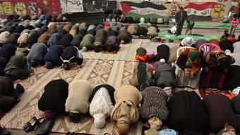 Palästinenser beim Freitagsgebet. (Symbolbild)