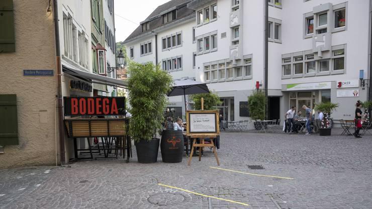 Das Restaurant Bodega am Cordulaplatz.