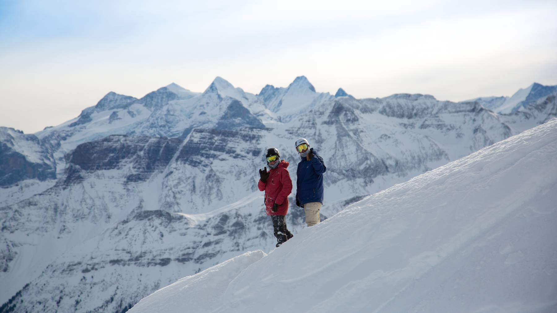Impressionen aus dem Skigebiet Sörenberg.