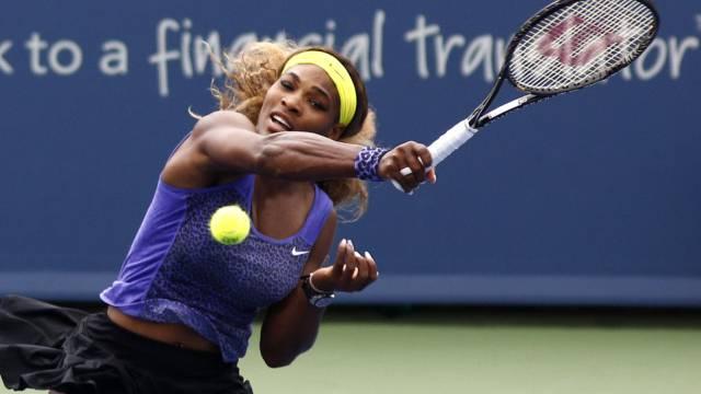 Serena Williams liess ihrer Finalgegnerin Ana Ivanovic keine Chance