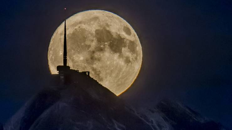 Der Einfluss des Mondes auf die Psyche des Menschen wird offenbar überschätzt, wie eine Studie der Psychiatrischen Dienste Graubünden zeigt (Archivbild).