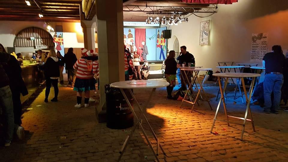 Am Samstagabend herrschte im Waaghaus teilweise gähnende Leere.