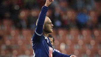 Marco Schneuwly schoss die ersten zwei Luzerner Treffer