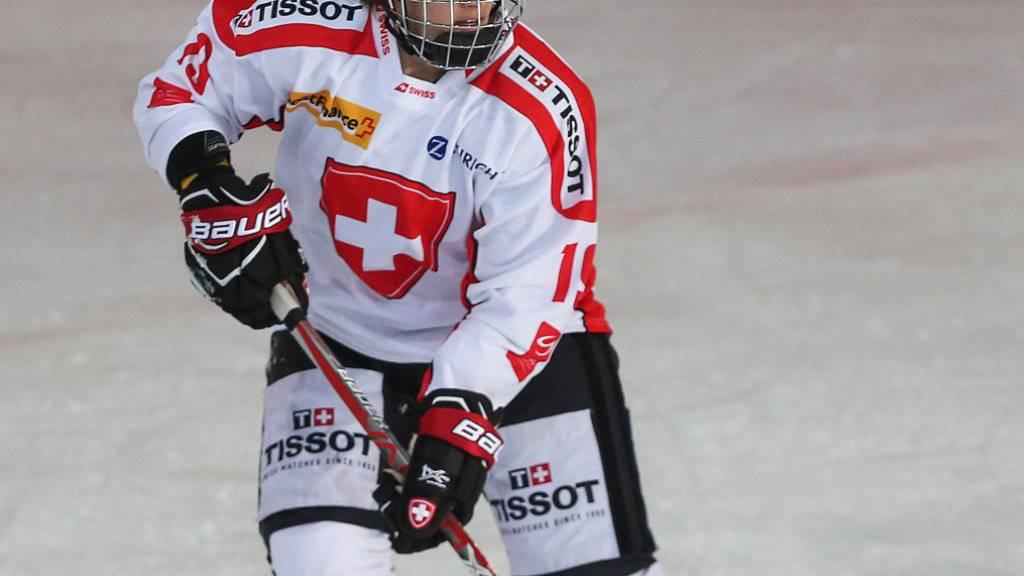 Christine Meier war zum WM-Auftakt die Matchwinnerin für die Schweiz