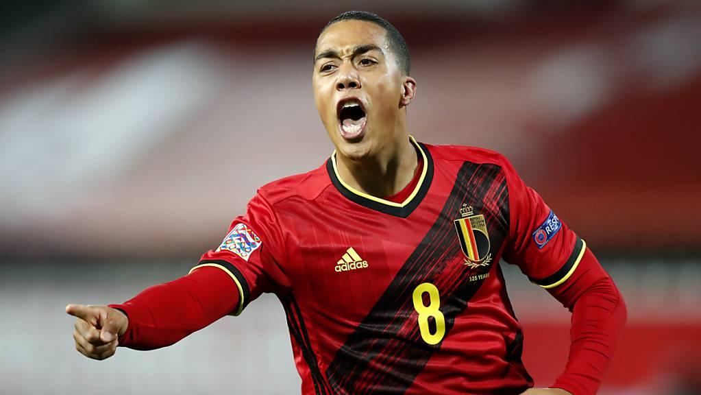 Youri Tielemans erzielte das 1:0 für die Belgier