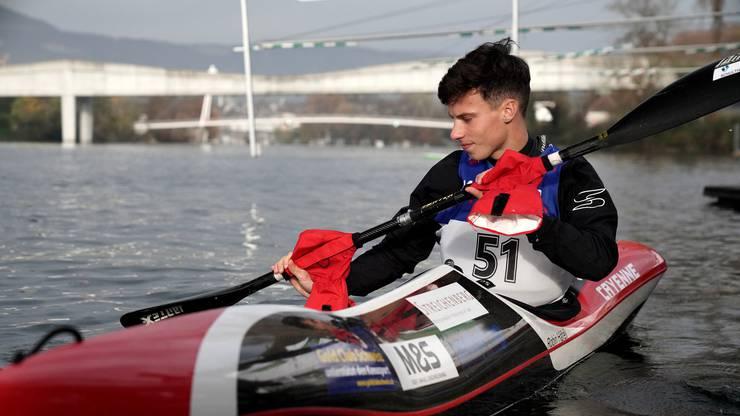 Der 18-jährige Robin Häfeli aus Langendorf gewinnt das Rennen seiner Kategorie souverän und freut sich auf die Reise in die USA in der nächsten Saison.