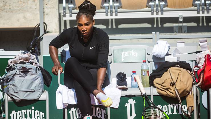 Serena Williams bestreitet in Paris ihr erstes Grand-Slam-Turnier als Mutter.