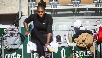 Serena Williams bestreitet in Paris ihr erstes Grand-Slam-Turnier als Mutter.