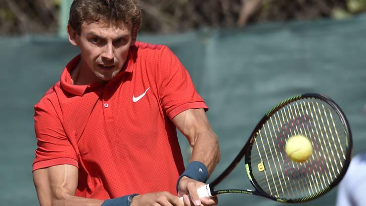 Henri Laaksonen zeigt sich am ATP-Turnier in Bastad in guter Form (Archiv)