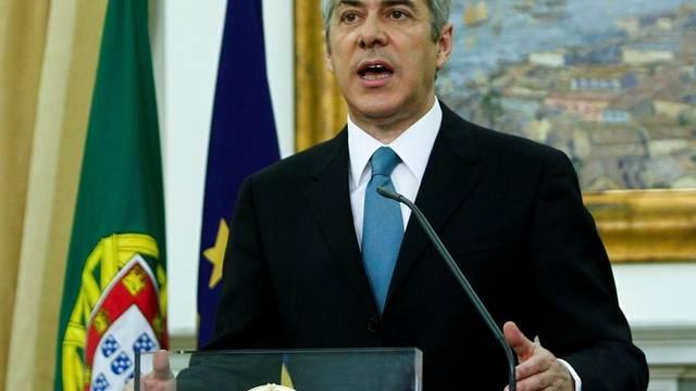 Portugals Ministerpräsident José Socrates bittet die EU um Finanzhilfe
