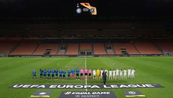 Immerhin wird gespielt: Inter Mailand gegen das bulgarische Team von Ludogorez Rasgrad am letzten Donnerstag.