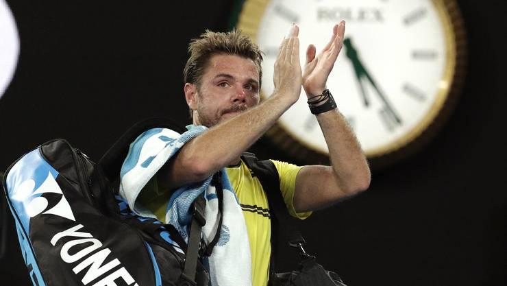 Stan Wawrinka scheitert bei den Australian Open in der zweiten Runde.