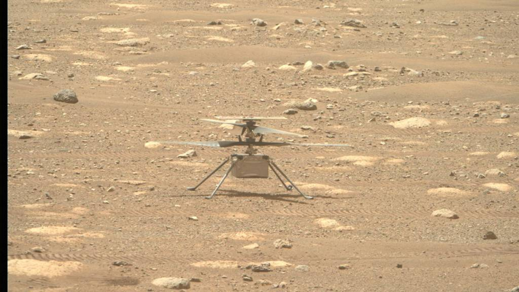 Mars-Helikopter «Ingenuity» absolviert erfolgreich dritten Flug