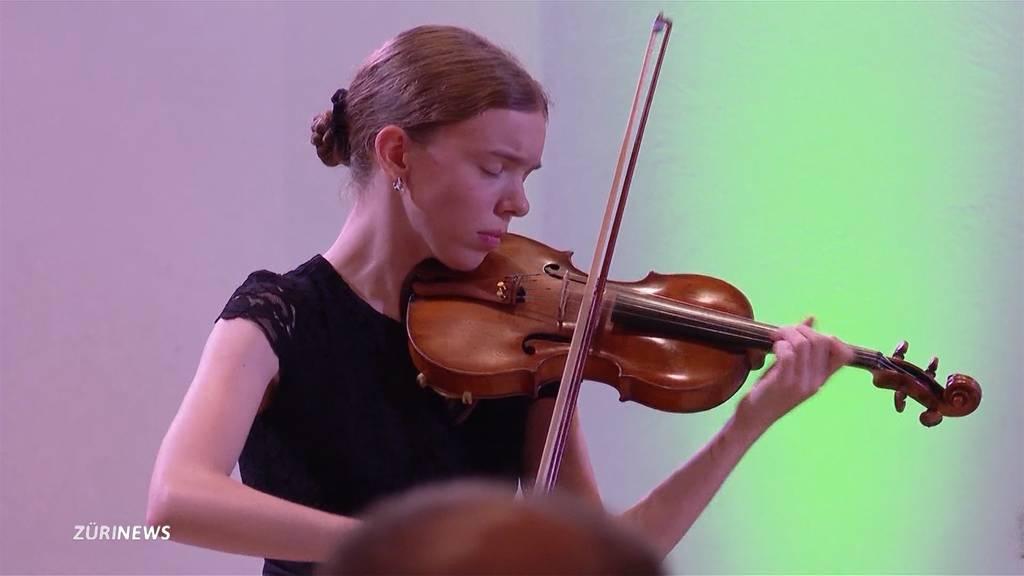 Das Geigen-Wunder aus Zürich: 14-Jährige begeistert an Konzert in Herrliberg