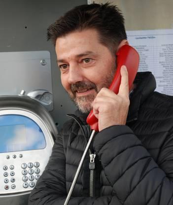 Andreas Neeser am Gschechte Telifon