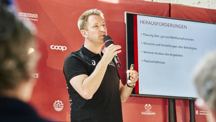 Hat das Sportliche im Griff Gesamtwettkampfleiter Thomas Jäger.