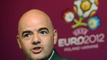 Steht wegen diverser Hinterzimmer-Geschäfte in der Kritik: Fifa-Präsident Gianni Infantino. (Archiv)