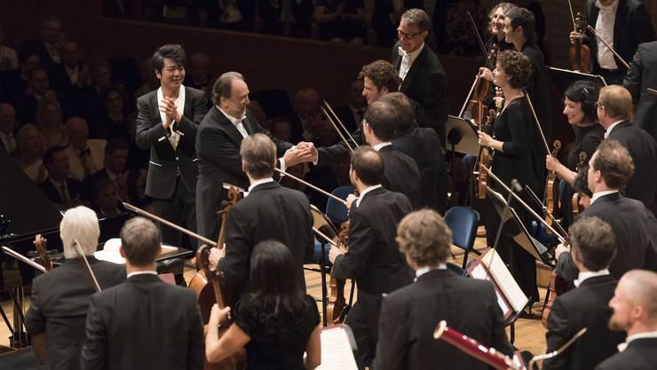Unter der Leitung von Riccardo Chailly eröffnete das Lucerne Festival Orchestra am Freitag das Sommer-Festival 2018.