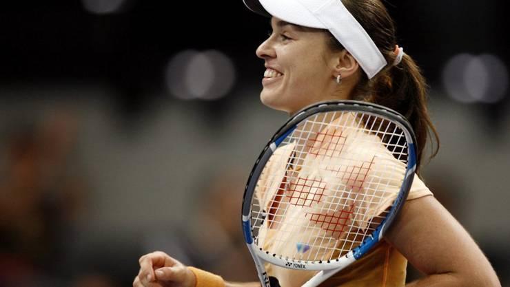 Martina Hingis war vor 13 Jahren die letzte Schweizer Einzelspielerin an den WTA Finals, die damals in Madrid stattfanden