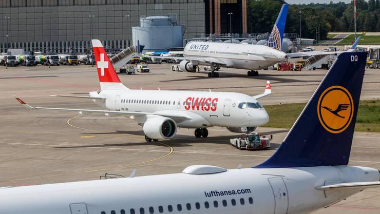 Nach der Rettung der Lufthansa darf auch die Schweizer Fluggesellschaft Swiss auf die Auszahlung von Coronakrediten des Bundes hoffen.