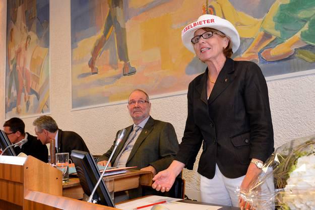 Das Kantonsparlament wählte die FDP-Landrätin aus Aesch am Donnerstag zu seiner Präsidentin für das Amtsjahr 2013/2014.