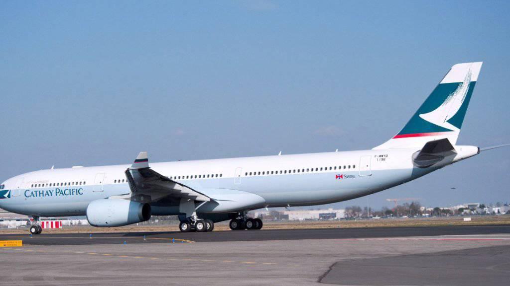 Cathay Pacific konnte ihren Spitzenplatz in der Liste der sichersten Fluglinien behaupten. Die Swiss landete im Mittelfeld.