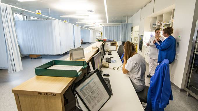 Führung für die Medien: Das Universitätsspital Nordwest auf dem Bruderholz