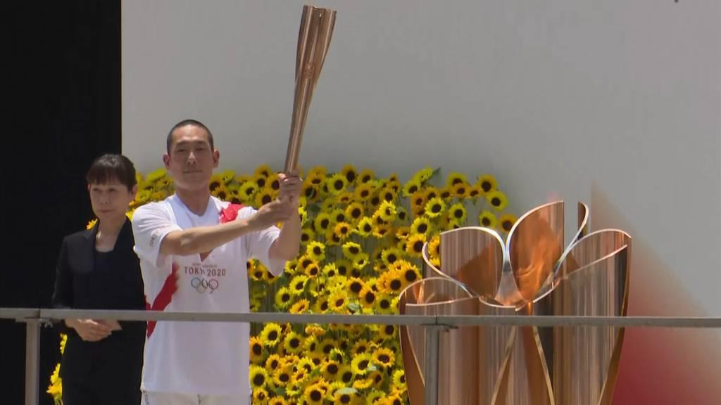 Wenige Stunden vor Eröffnungsfeier: Olympischer Fackellauf beendet