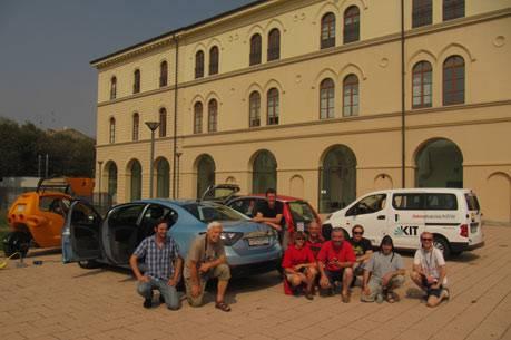 Gruppenbild in Tortona
