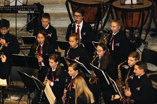 der Jugendmusik in Action