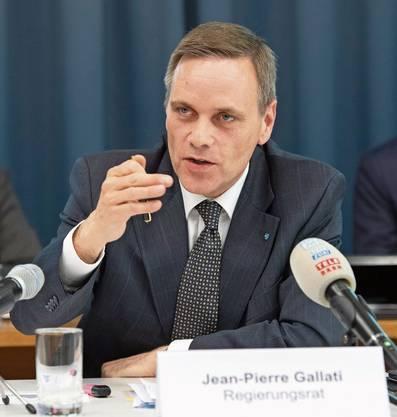 Der Aargauer Gesundheitsdirektor Jean-Pierre Gallati.
