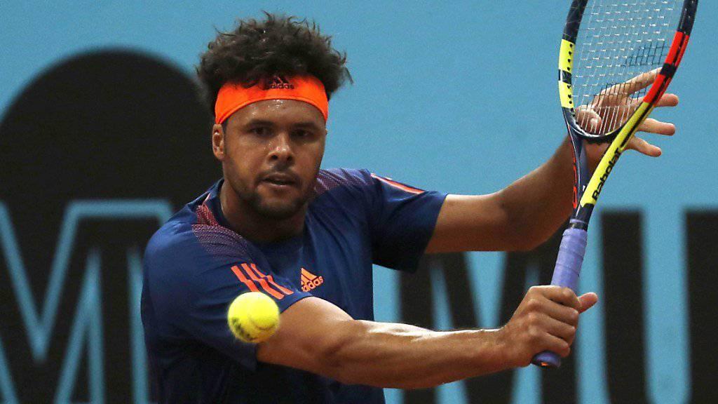 Jo-Wilfried Tsonga gewinnt das Turnier in Lyon