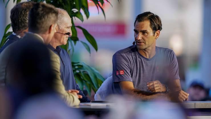 Fair im Umgang, hart in der Sache und stets am Konsens interessiert: Roger Federer.