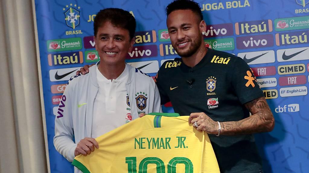 Neymars 100. Länderspiel - 1:1 gegen Senegal