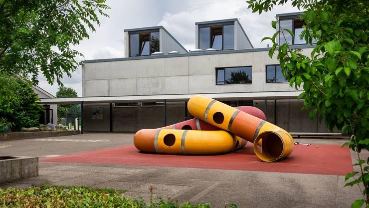 Die Problemzone: der Pausenplatz des Schulhauses Schlüechti