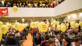 Protestveranstaltung Mittenzer Halle