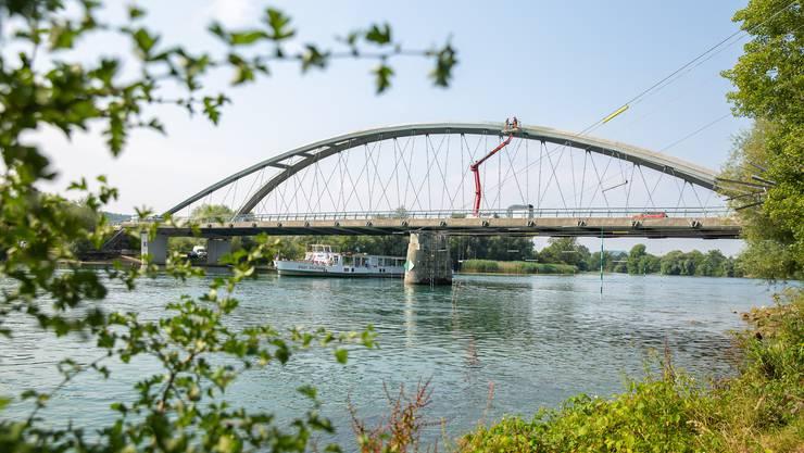 Renovation der Aarebrücke zwischen Grenchen und Arch.