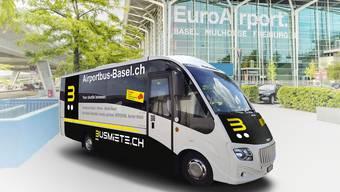 Der neue Airportbus.