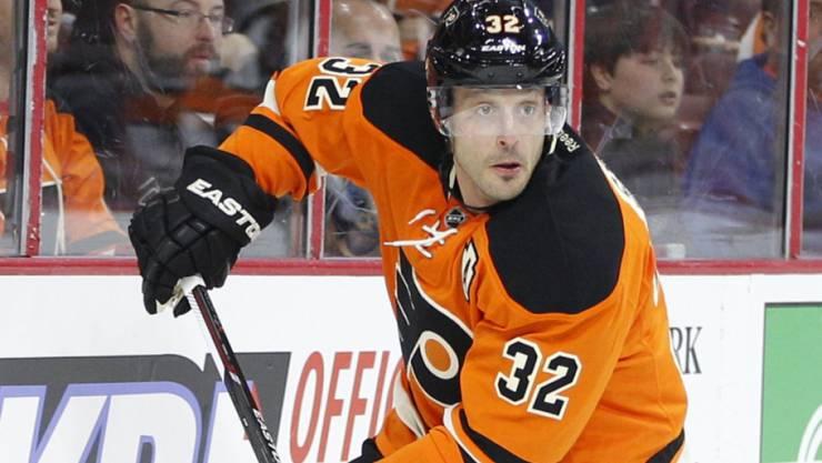 Blick nach vorne: Mark Streit schaffte es mit den Philadelphia Flyers in die Playoffs
