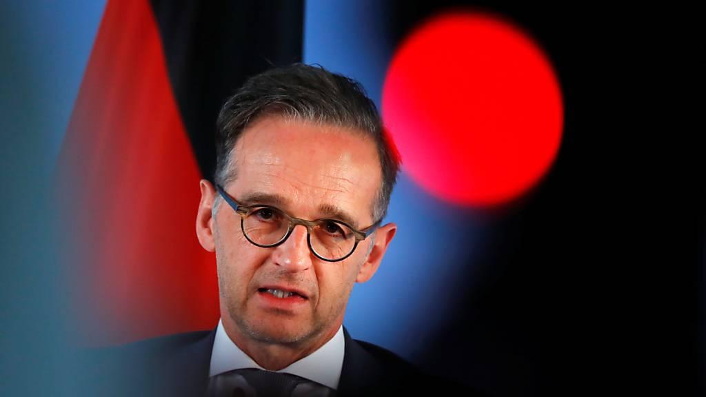 Deutscher Aussenminister: Proteste in den USA «mehr als legitim»