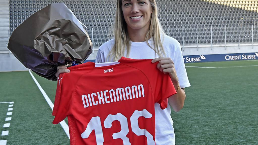 Lara Dickenmann absolvierte für die Schweiz 135 Länderspiele