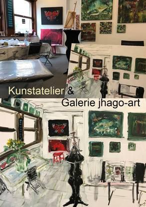 Foto und Malerei  von Jeannette Hasler-Gobbi