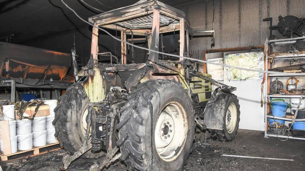 100'000 Franken Sachschaden nach Brand in Werkhof