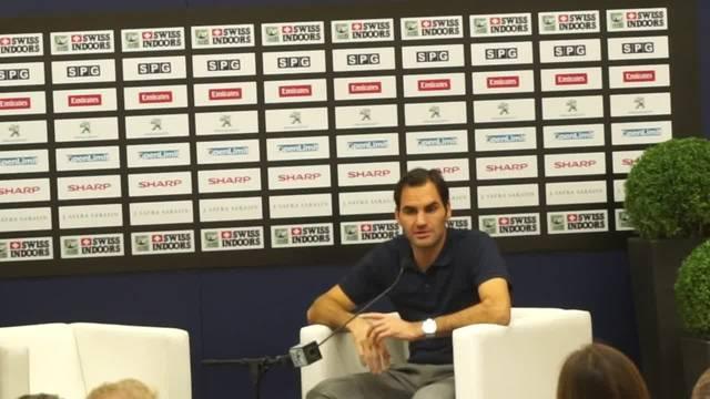 Roger Federer über seine WC Pause